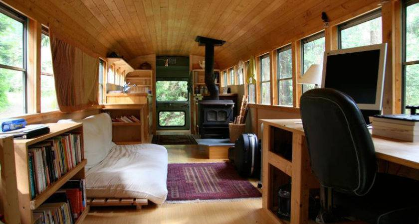 World Mysteries School Bus Converted Into Mobile Home