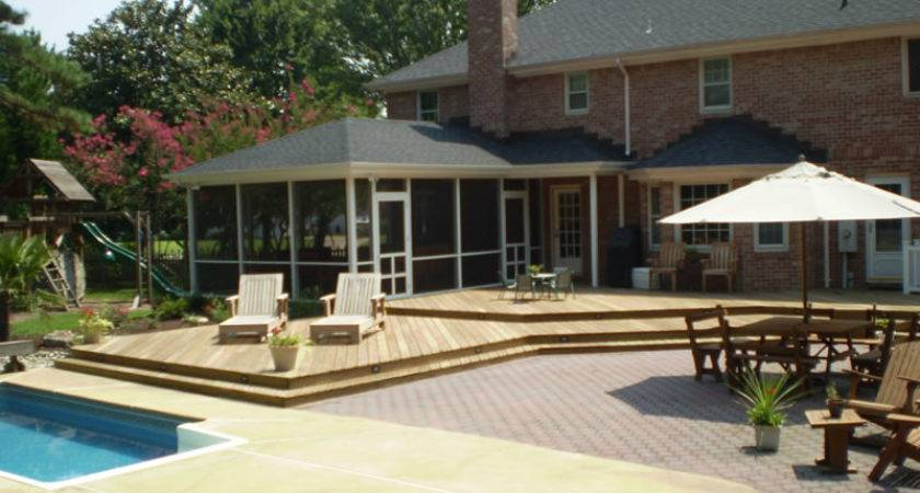 Wrap Around Deck Builder Decks Virginia
