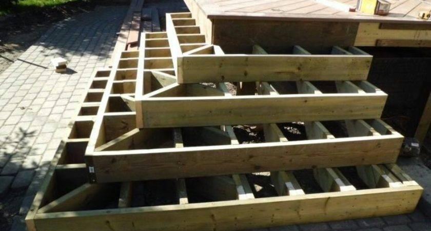 Wrap Around Steps Decks Fencing Contractor Talk