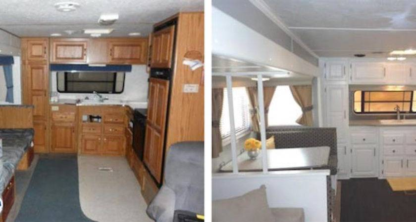 Year Old Jayco Travel Trailer Gets Interior Decor Makeover
