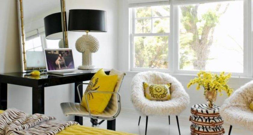 Yellow Bedroom Design Ideas