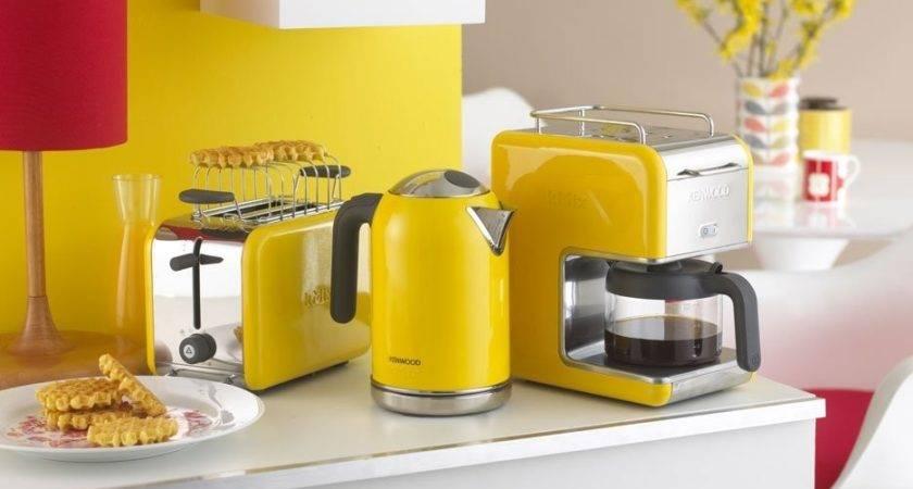 Yellow Black Kitchen Decor