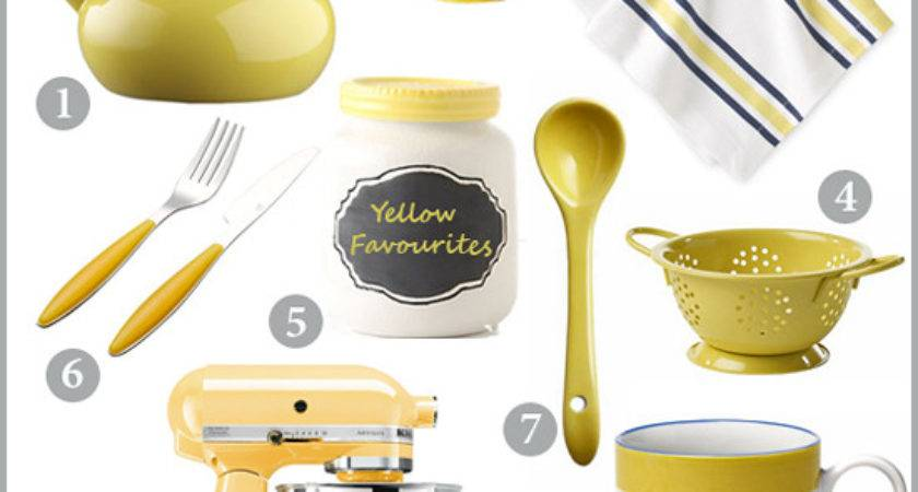 Yellow Kitchen Accessories Chocolate Shavings