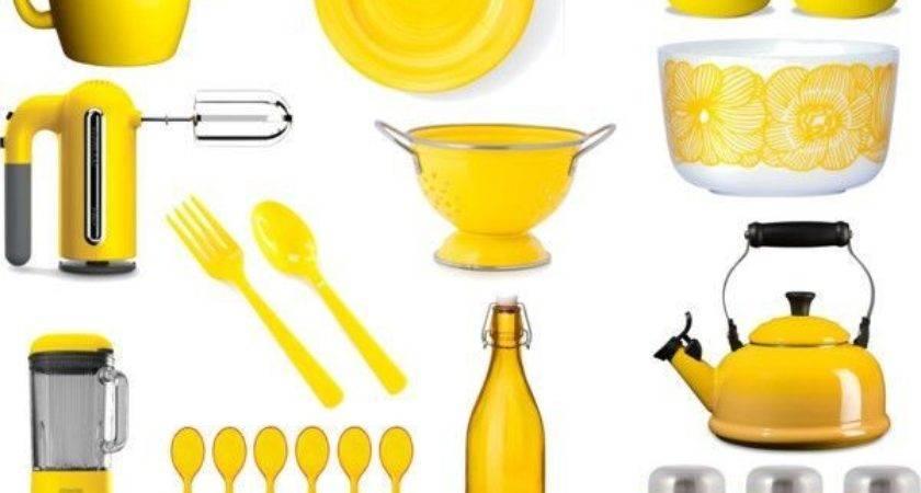 Yellow Kitchen Accessories Stuff Buy Pinterest
