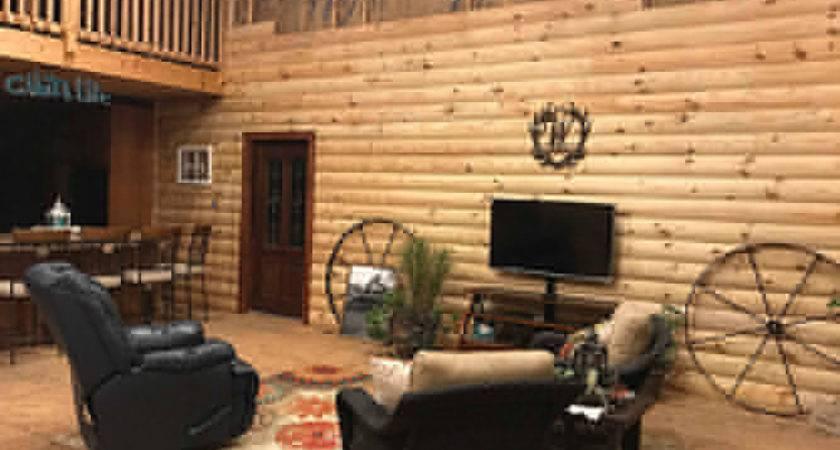 Yellow Pine Log Cabin Siding Paneling