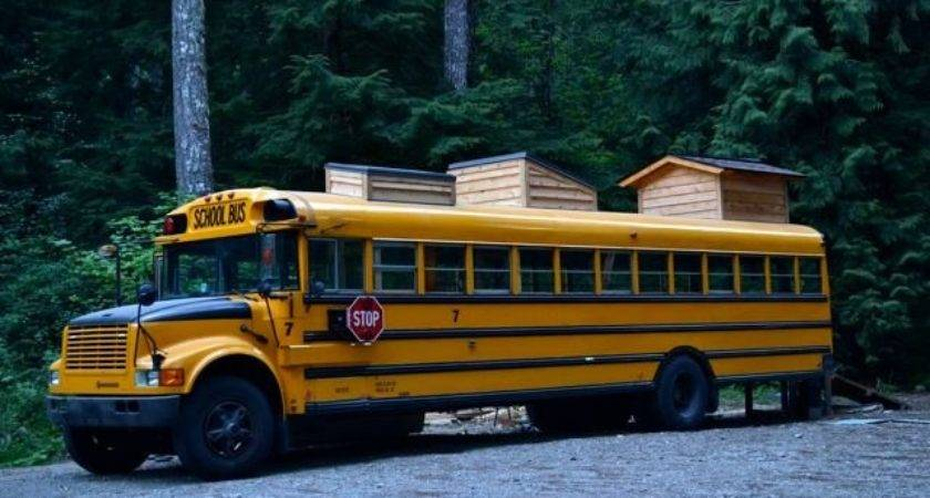 Yellow School Bus Home