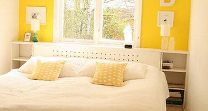 Yellow Wall Decor Bedroom Design