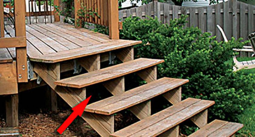 Your Deck Safe Things Look Mosby Building