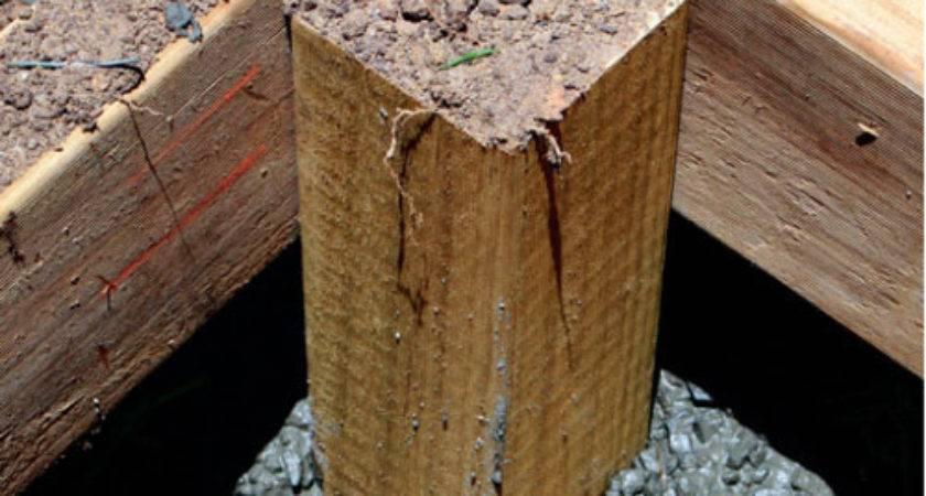 Yourself Build Freestanding Deck Australian