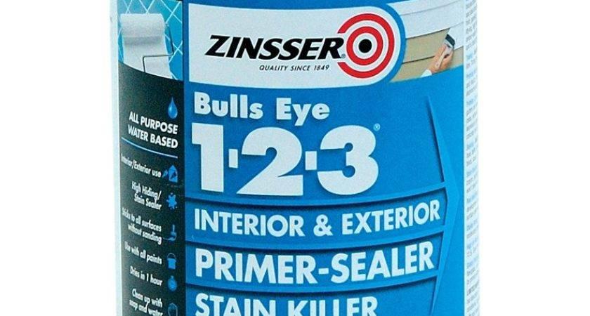Zinsser Bullseye Water Based Sealer Primer
