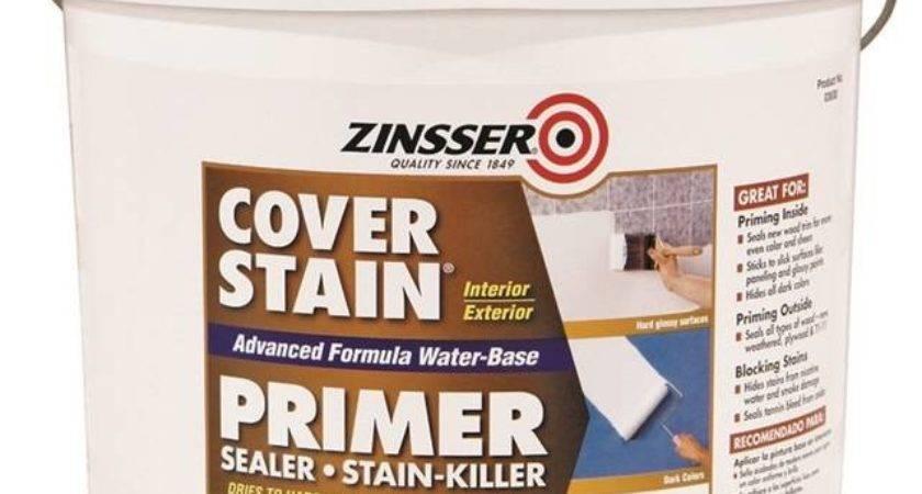 Zinsser Cover Stain Primer Sealer Gal Liquid White