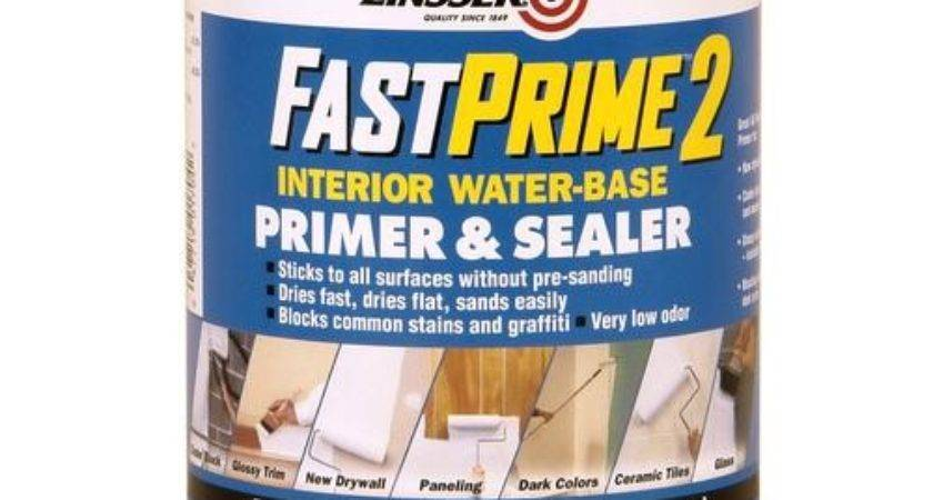 Zinsser Fastprime White Water Base Primer Sealer