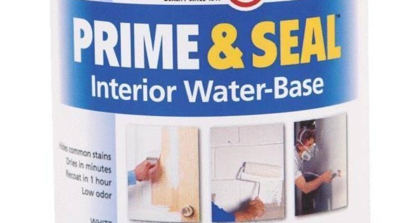 Zinsser Interior White Prime Seal Water Based Stain