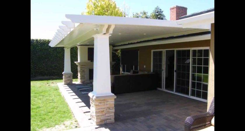 Zspmed Patio Cover Attached House